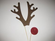 Photo Booth Props - Holiday Christmas Props