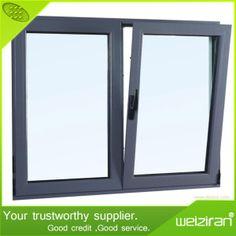Cheap Double Glazing Aluminium Alloy Tilt Turn Casement Windows on Made-in-China.com