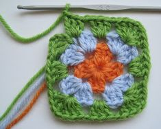 Crochet Flowers, Knitting, Lana, Yacht, Hobby, Hippie Chic, America, Crochet Stitches, Crochet Squares