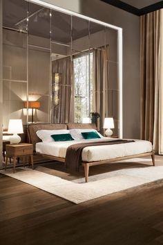 Bed INDIGO designed by Leonardo Dainelli / мебель Selva, интерьер, дизайн столовой, дизайн обеденной зоны,  furniture, dining area, Современная спальня, минимализм, интерьер спальни, спальня дизайн, уютная спальная комната, кровать, minimalist bedroom ideas, bedroom design, interior, cozy bedroom #bedroom #idcollection #selva