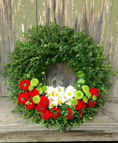 Wreath/Green/Red/Yellow/White/ANZAC/Ceremony