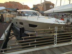 Jeanneau Leader 40 in Sydney Australia Boat Show 2014