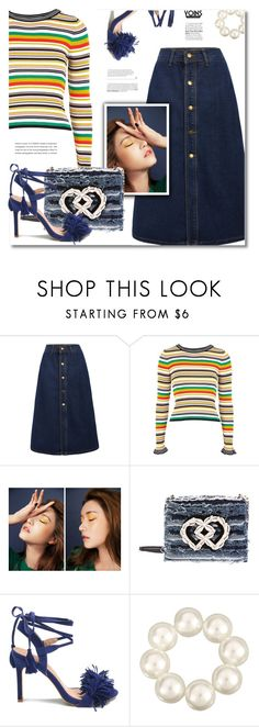 """YOINS"" by defivirda ❤ liked on Polyvore featuring Topshop, StyleNanda, Dsquared2, yoins, yoinscollection and loveyoins"