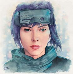 Check out this @Behance project: \u201cThe Major (Scarlett Johansson)\u201d https://www.behance.net/gallery/45494091/The-Major-(Scarlett-Johansson)