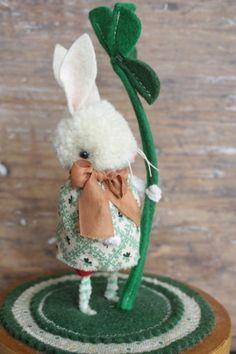 ☃ Plush Toy Preciousness ☃  Lucky Bunny by jennifer murphy