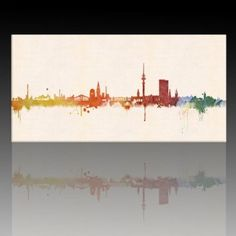 hamburg skyline hamburg germany cityscape art print 2652 by artpause on etsy cool stuff. Black Bedroom Furniture Sets. Home Design Ideas