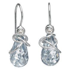 Kwarts earrings by Rabinovich