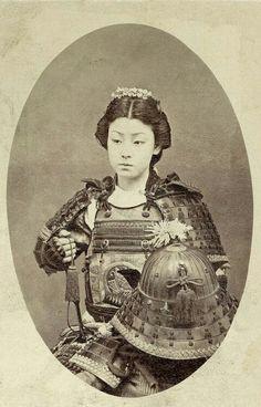 Onna Bugeisha female warrior from feual Japan.