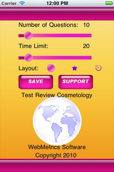 Test Review Cosmetology Master.