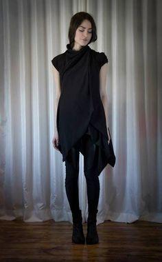 NUIT S/S 14. Black layers. Asymmetric. Simplicity.