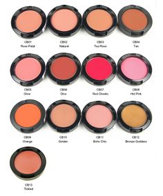 NYX Cream Blushes. Easy to apply, long lasting, flattering range of hues for all skin tones, and less than $7 at most US chain drugstores.