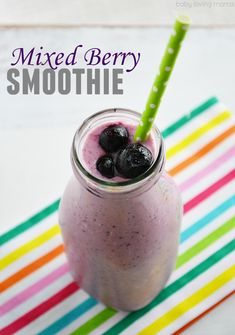 Mixed Berry Smoothie