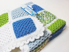 Blanket, Crochet, Scrappy Quilts, Ganchillo, Blankets, Cover, Crocheting, Comforters, Knits