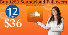 Buy 1250 Soundcloud Followers To Enjoy Viral Exposure For Music