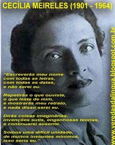 Veredas da Língua: Cecília Meireles - Poemas