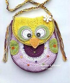 Luty Artes Crochet: Bolsinhas de crochê