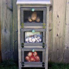DIY Produce Bin - Healthy Home - Mother Earth Living