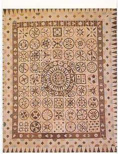 Jane Pizar marriage quilt