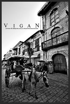 Vigan, Ilocos Sur, Philippines.