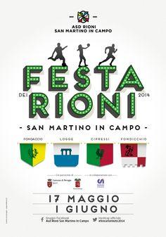 Locandina Festa Rioni San Martino in Campo 2014
