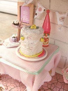 Miniature Birthday Cake!