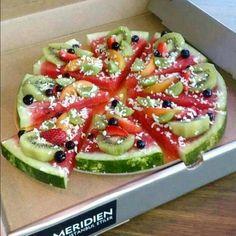 Una pizza muy nutritiva y original ♡♡
