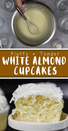 Healthy Frosting Recipes, Healthy Cake, Baking Recipes, Baking Ideas, White Cupcake Recipes, Wedding Cupcake Recipes, Cupcake Ideas, Wedding Cupcakes, Dessert Ideas