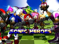 Sonic Heroes.