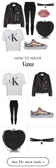 """Без названия #1"" by sabinaakhmedova-i on Polyvore featuring Acne Studios, Calvin Klein, River Island, Vans, Fallon and Lime Crime"