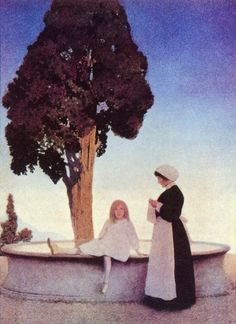 151 best maxfield parish art illustrations catalogs images on