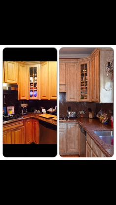 Rust Oleum Cabinet Transformation 174 Before And After Home