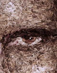 Living eye body mosaic