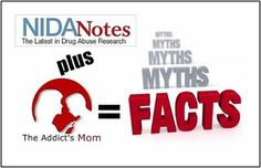 The Addict's Mom working with NIDA Breaking the Myths of Addiction Relapse Prevention, Grieving Mother, Activists, Addiction, Facts, Relationship, Mom, Amazing