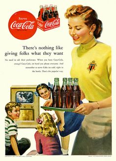 1952 Coca-Cola ad, shared by Paul Malon via Flickr.