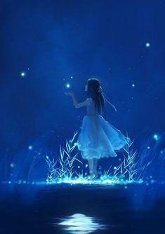 Raindrops and Roses: Photo Anime Scenery Wallpaper, Nature Wallpaper, Disney Wallpaper, Galaxy Wallpaper, Art Anime Fille, Anime Art Girl, Anime Girls, Raindrops And Roses, Anime Galaxy