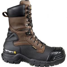 CMC1259 Carhartt Men's WP INS Safety Boots - Brown www.bootbay.com