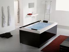 Modern Bathroom Jacuzzi Design - Home Decor Ideas