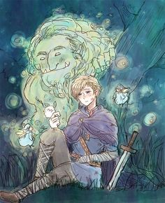 Sigurd (head-canon name for Norway) - Art by ai