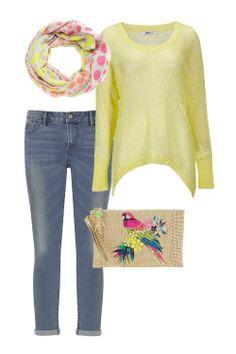 Die schönsten Looks für den Frühling - Gemütliches Outfit für den Frühling