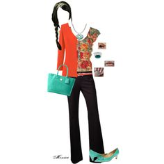 A fashion look from February 2013 featuring Dittos cardigans, French Connection tops and Kate Spade shoes. Browse and shop related looks.