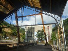 Patrimonio Industrial Arquitectónico: Más fotografías de obras de Pozo de Santa Bárbara de Turón, Mieres (Asturias)