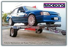 Raceking Race Car Trailers Australia - The perfect car trailer for low race cars and other vehicles. For sale in Queensland