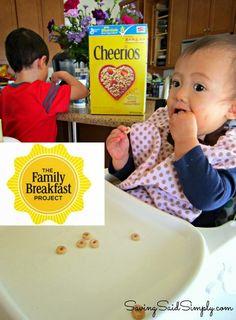 Saving Said Simply: Cheerios Family Breakfast Project #FamilyBreakfast #PlatefullCoop