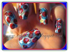 Zebra Testuje: Ciapki na paznokciach :]