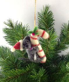 "Needle Felted ornament by Trish Veilleux On Facebook - ""I Felt That - Needle Felting by Trish"""
