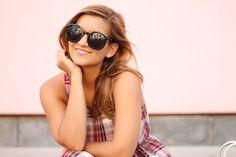 Easy Plaid Dress | Karen Walker Sunglasses
