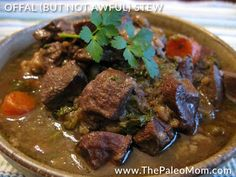 Offal (But not Awful) Stew - AIP