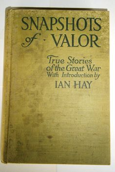 Snapshots of Valor Antique Book World War I by heritagegeneralstore, $9.99
