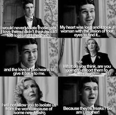 After last night this makes me even sadder. Dandy & Gloria - American Horror Story Freak Show