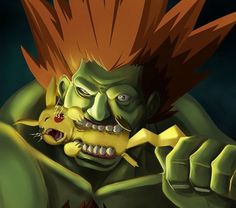 Street Fighter VS. Pokemon – Comment Blanka recharge ses batteries